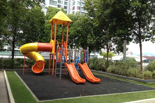 For Rent Condominium at The Tamarind, Sentul Freehold Semi Furnished 3R/2B 1.8k