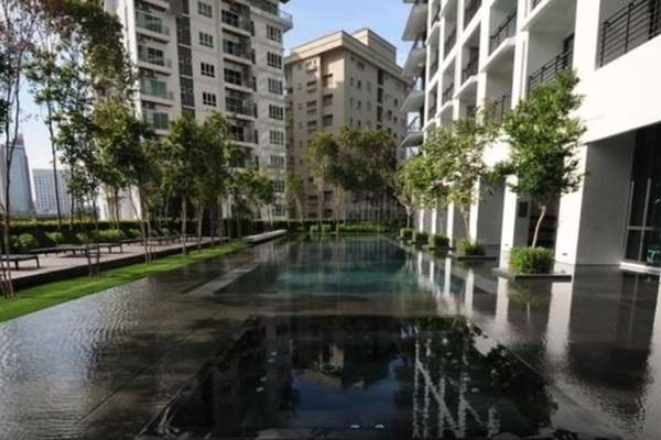 For Rent Condominium at Hampshire Place, KLCC Freehold Fully Furnished 2R/2B 5.2k