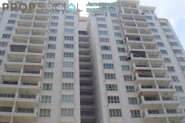 For Rent Condominium at Ken Damansara II, Petaling Jaya Freehold Semi Furnished 3R/2B 2.5k
