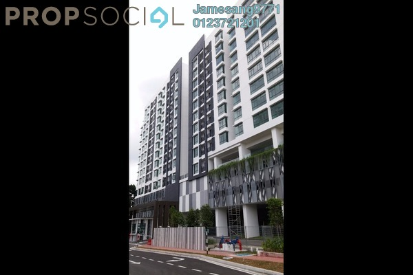 For Rent Condominium at Urbana Residences @ Ara Damansara, Ara Damansara Leasehold Semi Furnished 2R/2B 1.7k
