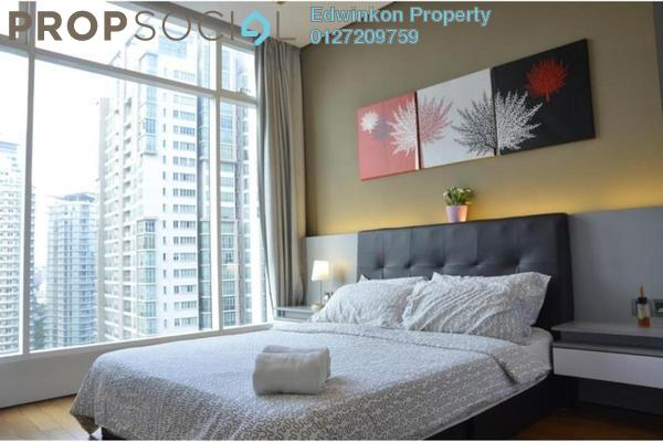 For Rent Condominium at Soho Suites, KLCC Freehold Fully Furnished 2R/1B 3.8k