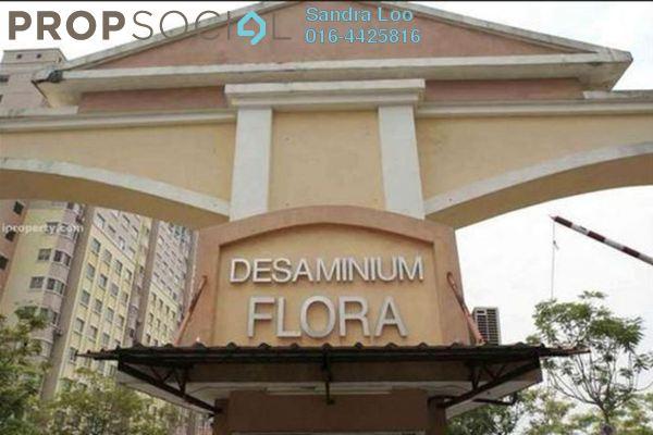For Rent Apartment at Desaminium Flora, Bandar Putra Permai Leasehold Unfurnished 3R/2B 900translationmissing:en.pricing.unit