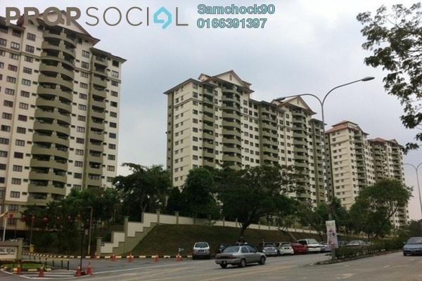 For Sale Condominium at Anjung Hijau, Bukit Jalil Freehold Semi Furnished 3R/2B 850k