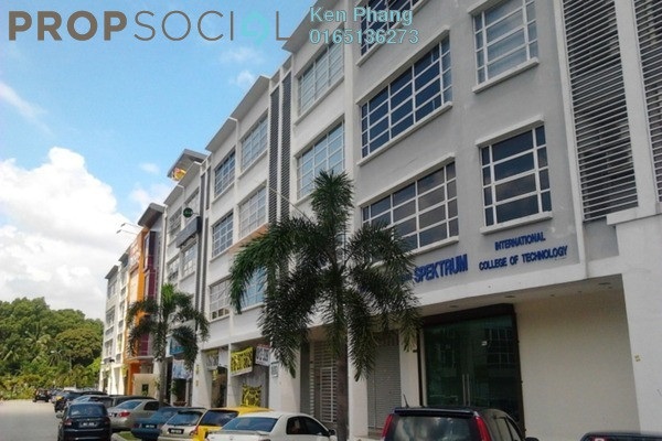 For Rent Shop at 1 Puchong Business Park, Bandar Puchong Jaya Freehold Fully Furnished 0R/2B 3.8k
