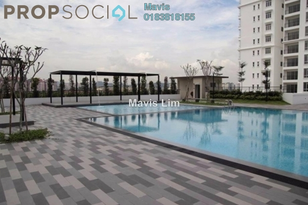 For Rent Condominium at 1120 Park Avenue, PJ South Leasehold Semi Furnished 3R/2B 1.5千