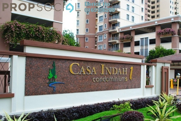 For Rent Condominium at Casa Indah 1, Tropicana Freehold Fully Furnished 2R/3B 1.9k