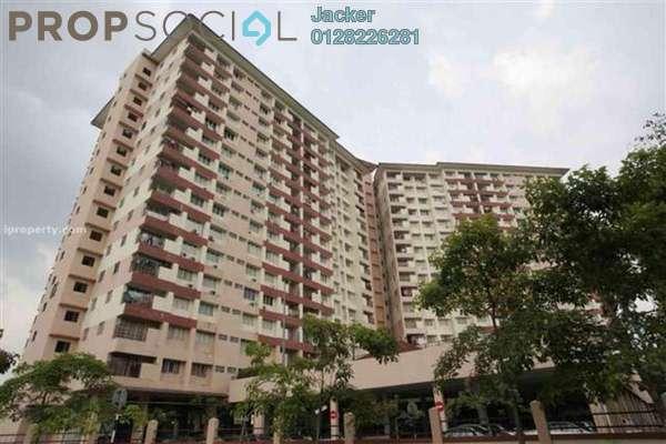For Rent Condominium at Bintang Mas, Bandar Sri Permaisuri Freehold Semi Furnished 3R/2B 1.5k