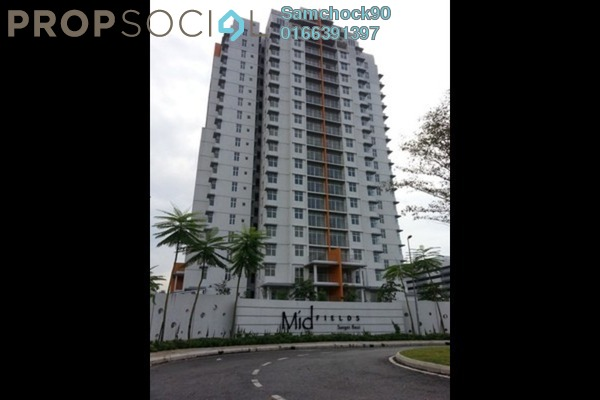 For Sale Condominium at Midfields, Sungai Besi Leasehold Fully Furnished 3R/2B 520k