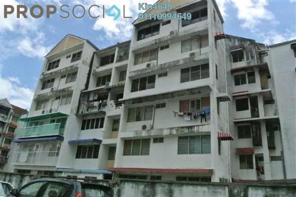 For Sale Condominium at Taman Lip Sin, Sungai Nibong Freehold Semi Furnished 3R/1B 350k
