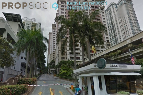 For Rent Condominium at Casa Kiara I, Mont Kiara Freehold Fully Furnished 3R/2B 3k