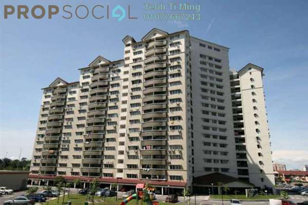 For Rent Condominium at Sentul Utama Condominium, Sentul Leasehold Semi Furnished 3R/2B 1.35k