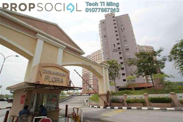 For Sale Condominium at Desaminium Flora, Bandar Putra Permai Leasehold Semi Furnished 3R/2B 215k