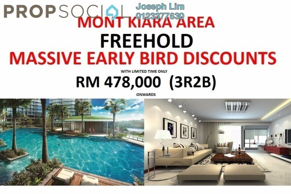 For Sale Condominium at Royalle Condominium, Segambut Freehold Unfurnished 3R/2B 478k