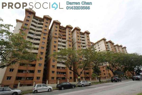 For Rent Condominium at Vantage Point, Desa Petaling Freehold Semi Furnished 3R/2B 1.2千