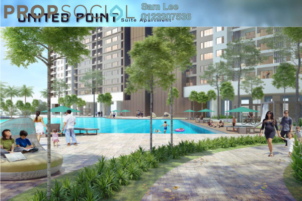 For Sale Condominium at Taman Pertama, Cheras Leasehold Unfurnished 3R/2B 538k