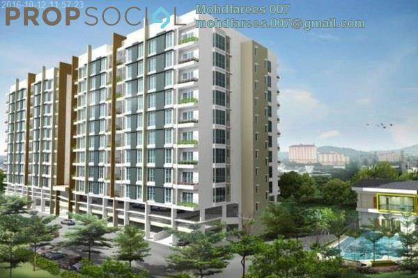 For Rent Condominium at Kelisa Residence, Seberang Jaya Freehold Unfurnished 3R/2B 1.2k
