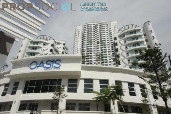 For Rent Condominium at The Oasis, Gelugor Freehold Fully Furnished 3R/2B 1.5k