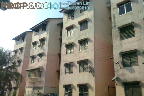 For Sale Apartment at Taman Mewah, Batu Maung Freehold Unfurnished 2R/1B 120k
