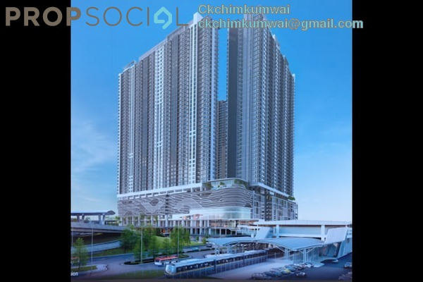 For Sale Serviced Residence at United Point Residence, Segambut Freehold Semi Furnished 3R/2B 528k