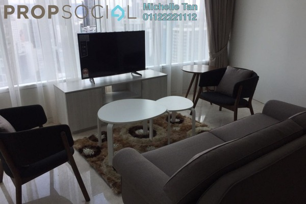 For Rent Condominium at Vortex Suites & Residences, KLCC Freehold Fully Furnished 2R/2B 3.65k