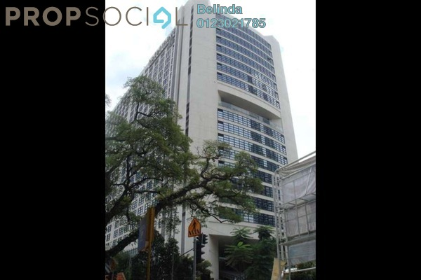 For Rent Office at Plaza 138, KLCC Freehold Semi Furnished 0R/0B 3.5k