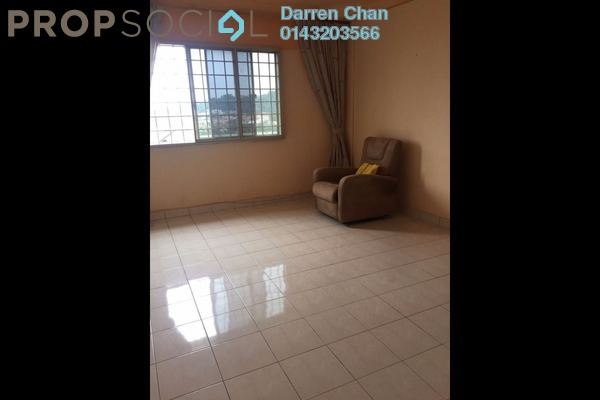 For Rent Apartment at Avenue Court, Old Klang Road Leasehold Semi Furnished 3R/2B 1.2k