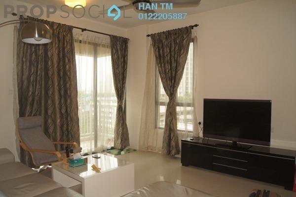 For Rent Condominium at Casa Kiara II, Mont Kiara Freehold Fully Furnished 3R/3B 3.5k