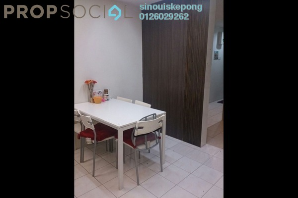 For Sale Apartment at Harmoni Apartment, Damansara Damai Freehold Semi Furnished 3R/1B 148k
