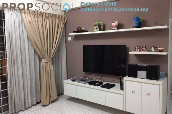 For Sale Condominium at Ampang Damai, Ampang Leasehold Semi Furnished 3R/2B 380k