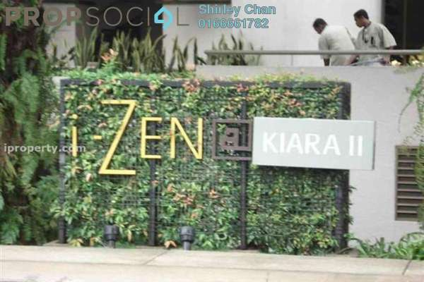 For Rent Condominium at i-Zen Kiara II, Mont Kiara Freehold Fully Furnished 1R/1B 2.4k