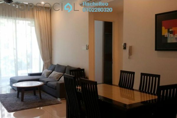 For Rent Serviced Residence at The Park Residences, Bangsar South Leasehold Fully Furnished 2R/2B 3.5k