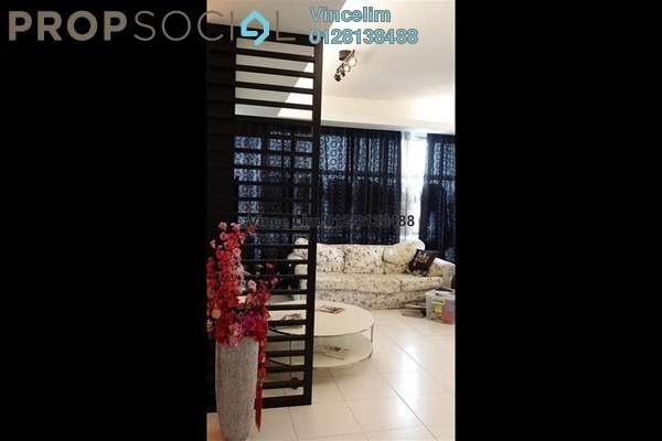For Sale Condominium at The Saffron, Sentul Freehold Semi Furnished 4R/3B 1.35m