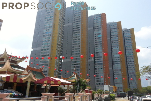 For Sale Condominium at Central Park, Green Lane Leasehold Fully Furnished 4R/4B 1.38m