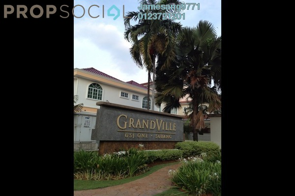 For Sale Bungalow at Grandville, UEP Subang Jaya Leasehold Semi Furnished 5R/6B 2.51m