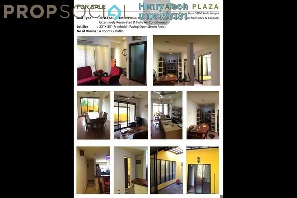For Sale Office at Faber Heights, Taman Desa Freehold Semi Furnished 4R/2B 720k