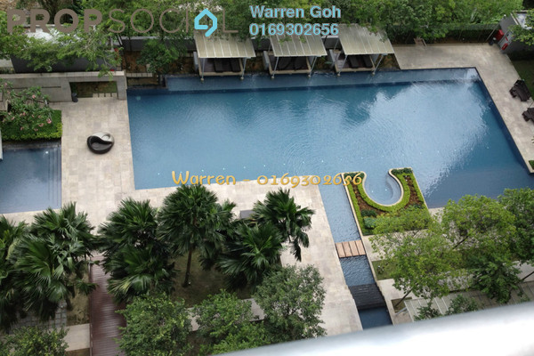 For Rent Condominium at Hampshire Residences, KLCC Freehold Fully Furnished 2R/2B 5.3k