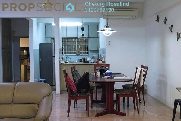 For Sale Condominium at Menara Jaya, Petaling Jaya Leasehold Fully Furnished 3R/2B 650k