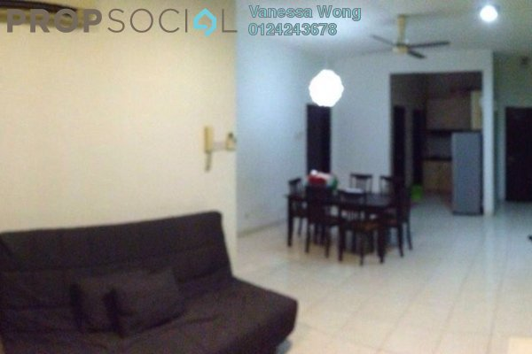 For Sale Condominium at Casa Tiara, Subang Jaya Freehold Semi Furnished 3R/2B 530k
