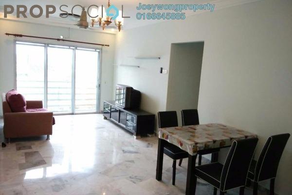 For Rent Condominium at Akasia Apartment, Pusat Bandar Puchong Freehold Semi Furnished 3R/2B 1.1k