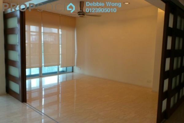 For Rent Condominium at Dua Residency, KLCC Freehold Semi Furnished 3R/4B 7k