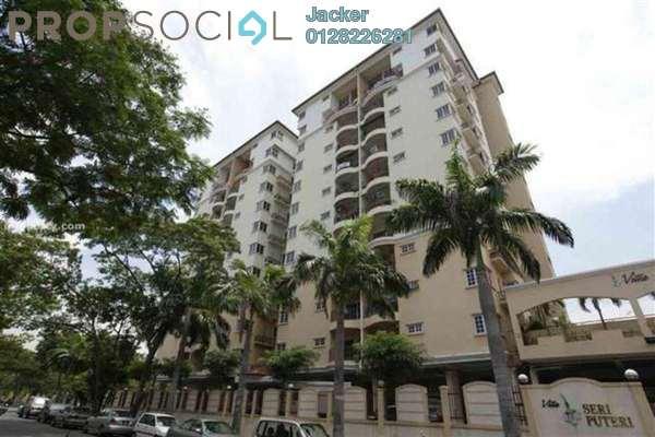 For Rent Condominium at Villa Seri Puteri, Cheras Leasehold Semi Furnished 3R/2B 1.5k