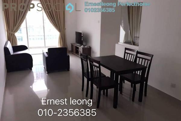 For Rent Condominium at Mutiara Ville, Cyberjaya Freehold Fully Furnished 3R/2B 1.8k