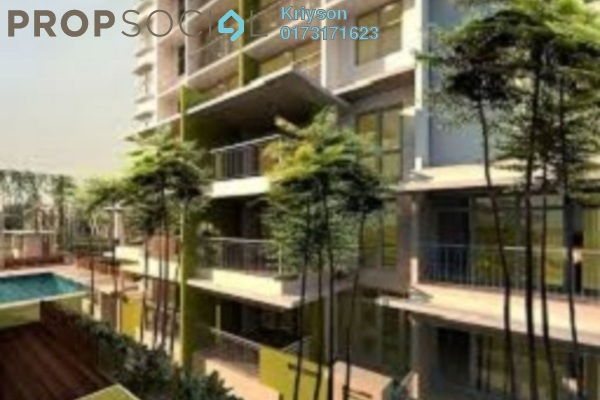 For Rent Condominium at Midfields, Sungai Besi Leasehold Fully Furnished 3R/2B 1.8k