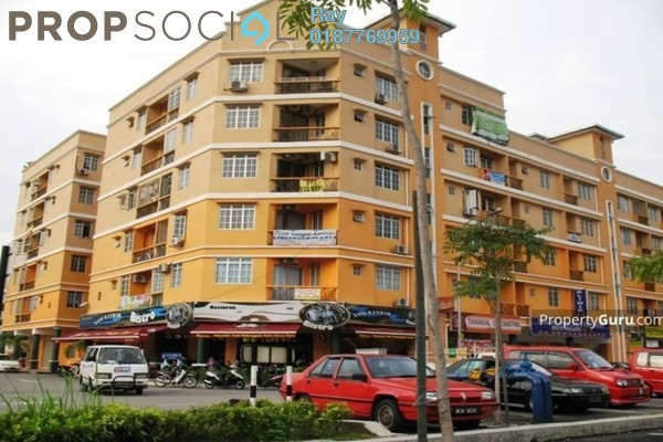 For Rent Condominium at Hata Square, Pandan Indah Leasehold Semi Furnished 4R/2B 1.4k
