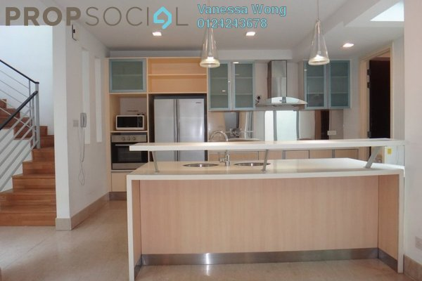 For Sale Superlink at Villa Aseana, Mont Kiara Freehold Semi Furnished 5R/5B 3.2m