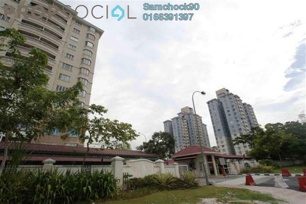 For Sale Condominium at Pertiwi Indah, Cheras Leasehold Fully Furnished 3R/2B 550k