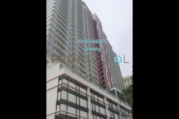 For Rent Condominium at MH Platinum Residency, Setapak Freehold Semi Furnished 2R/1B 1.3k