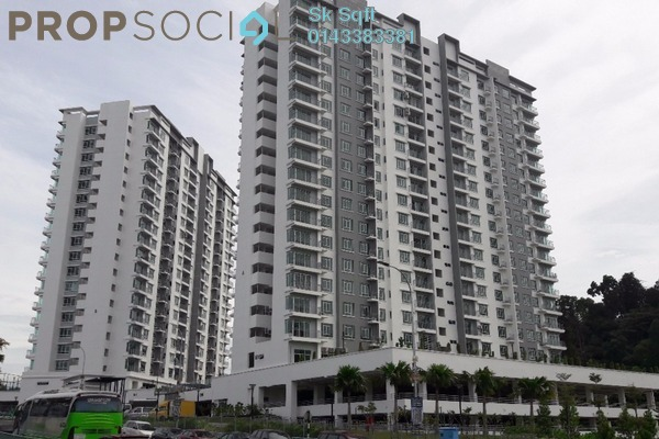 For Rent Condominium at Springville Residence, Equine Park Leasehold Semi Furnished 3R/2B 1.5k