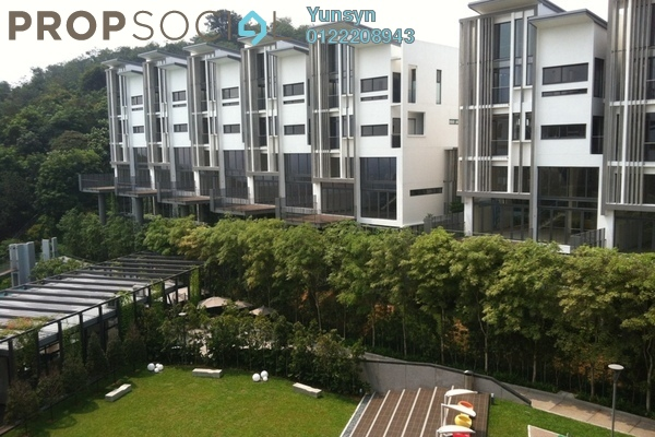 For Sale Terrace at The Mansions, Desa ParkCity Freehold Semi Furnished 5R/7B 5.2m