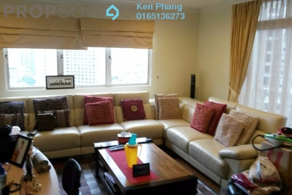 For Rent Condominium at City Gardens, Bukit Ceylon Leasehold Fully Furnished 4R/4B 7k